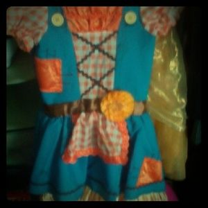 Cute scarecrow dress